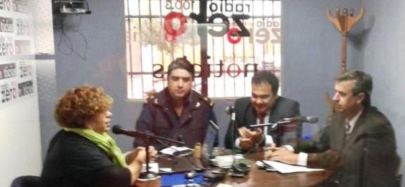 Policias radio Zero