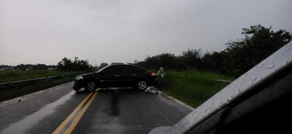 Accidente ruta 8 Renault