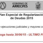 Prorroga Plan de Regularizacion