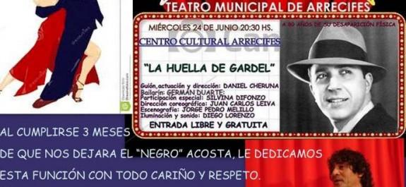 Teatro homenaje Gardel