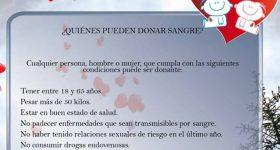Campaña donacion sangre