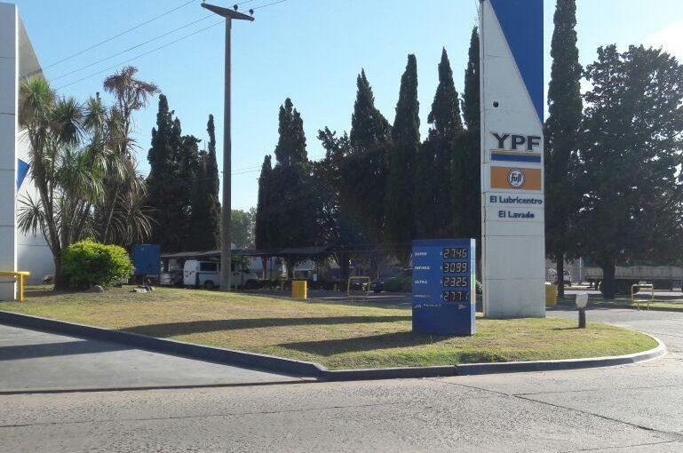 YPF aumenta otro 5% el precio de los combustibles