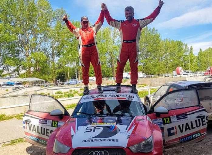 Chiche Scicolone, campeón argentino de Rally