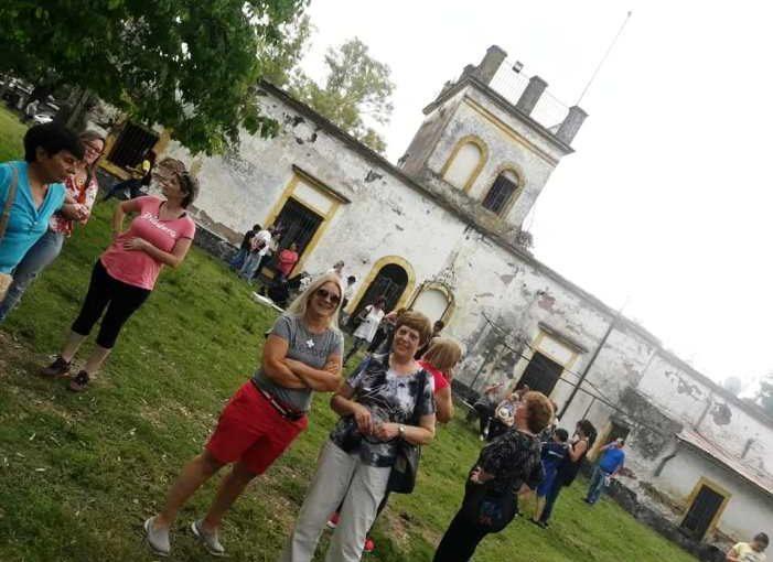 Reapertura de la capilla de la estancia El Carmen de Sierra