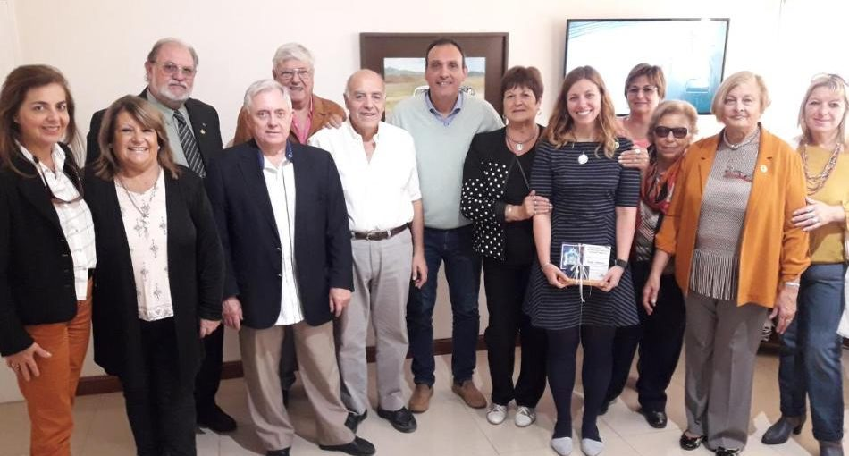 Visitas del Club de Leones de Estados Unidos y Colombia