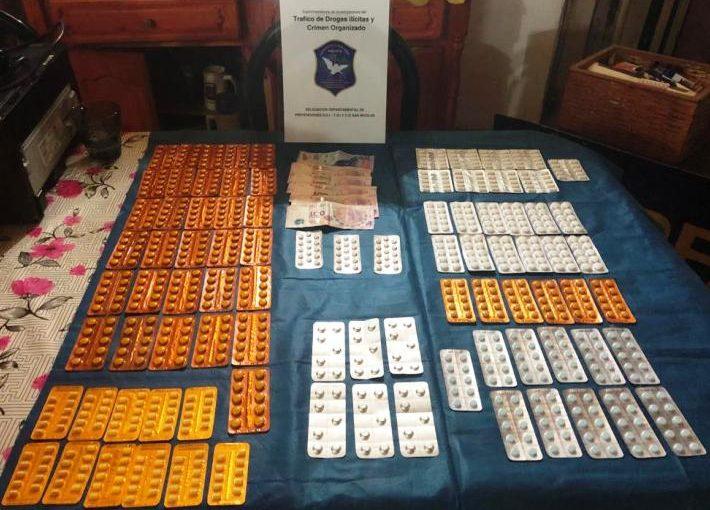 Allanamientos y detención por venta de drogas