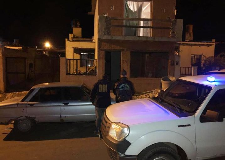 Una mujer detenida en operativo antidrogas