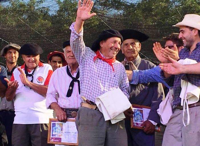 'Ruso' Albornoz fue el ganador del concurso de asadores