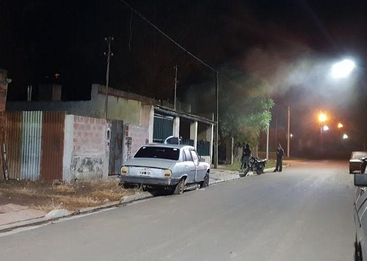 Incendio en barrio San Agustín