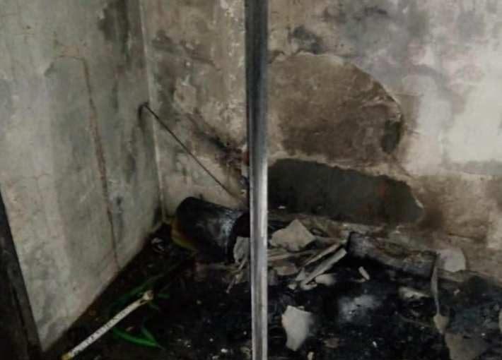 Prendieron fuego los baños del Balneario