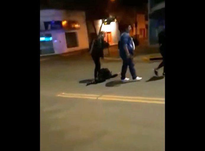 Un joven recibió un disparo de balas de goma en Pergamino