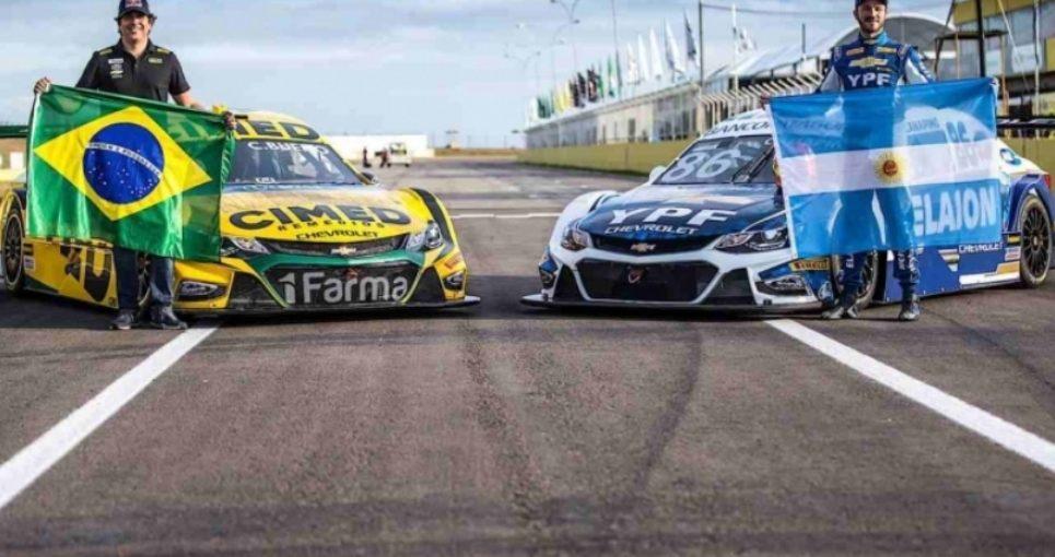 Agustín Canapino lideró los primeros entrenamientos del Stock Car brasileño