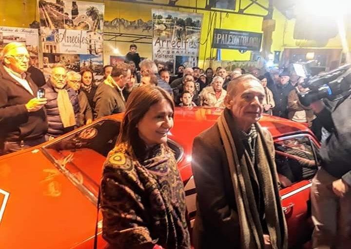 Emotiva presentación de la Chevy de TC de Marincovich