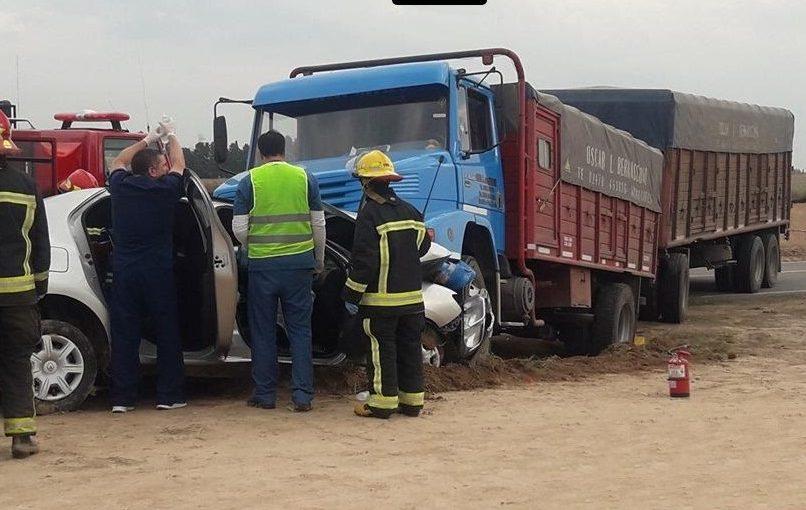Otro violento accidente en ruta 8