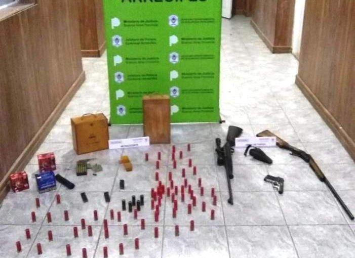 Detenido por tenencia ilegal de armas
