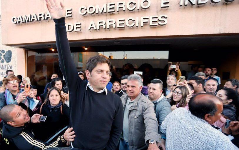 Kicillof: «Necesitamos un Municipio que no nos patee en contra»