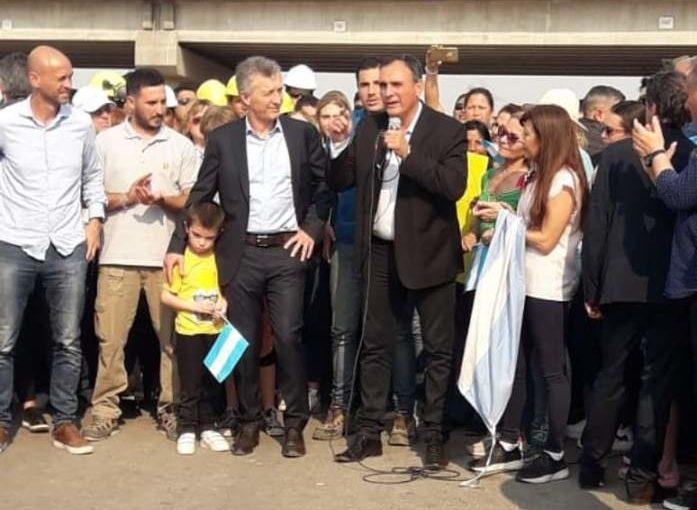 Según Clarín, Macri vendría a Arrecifes a cortar la cinta de la autopista