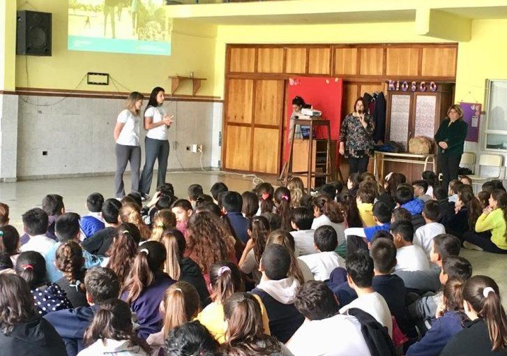 Charla sobre Educación Vial en la Escuela 7