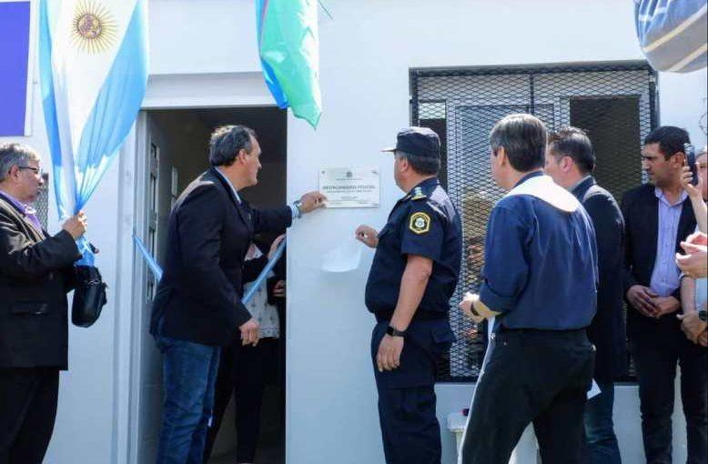 Inauguraron el Destacamento Policial de La Cumbre