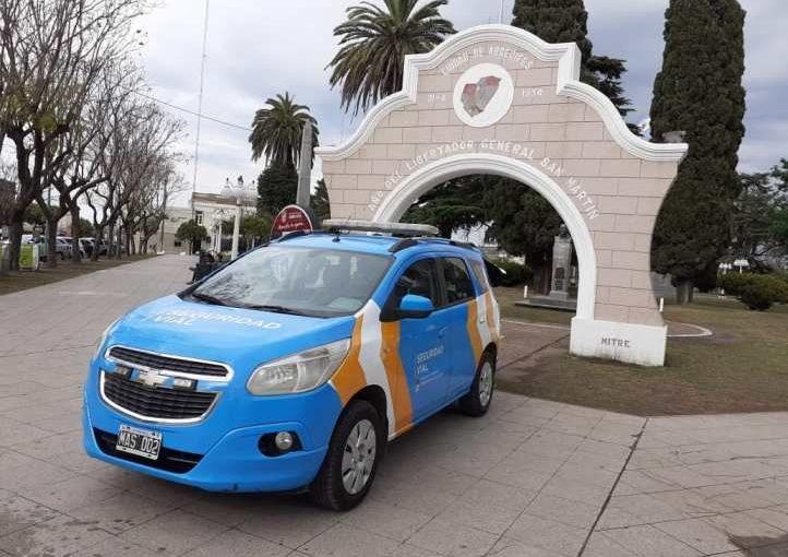 La Municipalidad presentó el móvil de Seguridad Vial