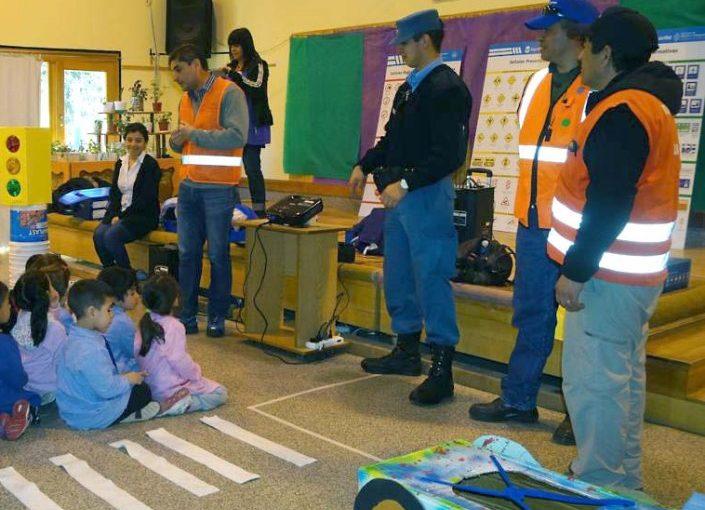 Charla de seguridad vial para alumnos de primaria