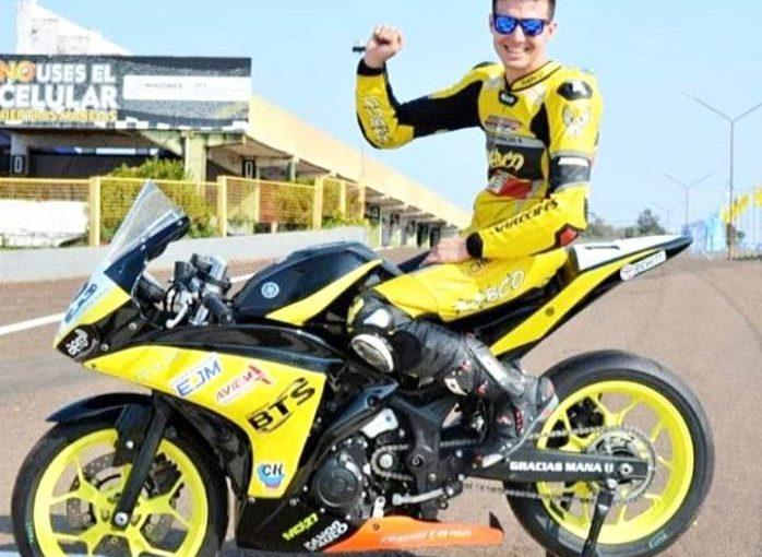 Maxi Rocha: título para Arrecifes también en motociclismo