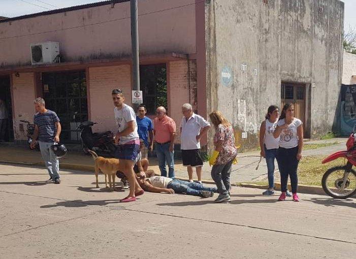 INSÓLITO ACCIDENTE EN FRANCIA Y SARGENTO CABRAL