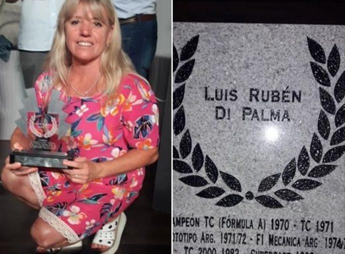 Homenaje a Luis Di Palma en la Fiesta del Automovilismo en Balcarce