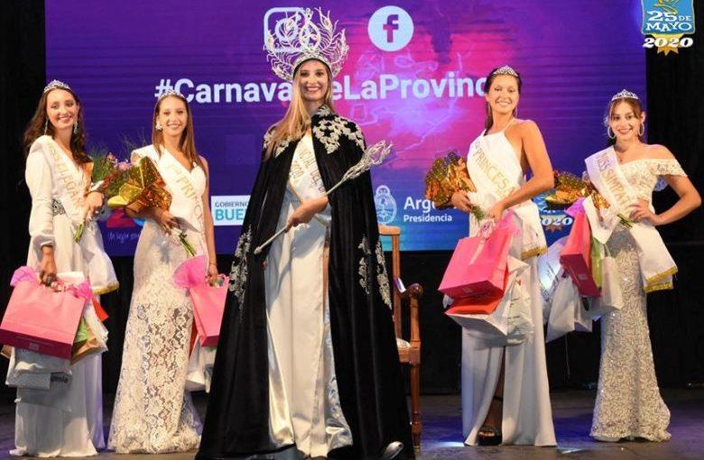 Jorgelina Rovitto, princesa provincial del Carnaval