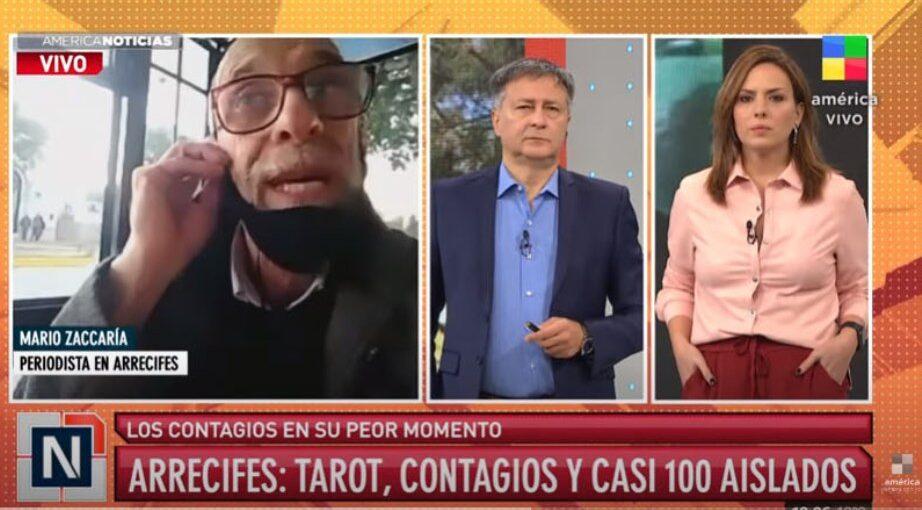 AMÉRICA TAMBIÉN SE OCUPÓ DEL CORONAVIRUS EN ARRECIFES