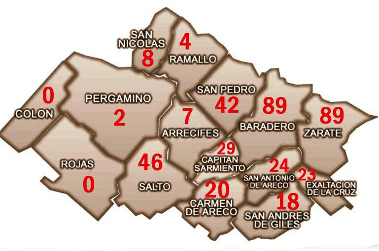 CORONAVIRUS: CRECEN LOS CASOS EN TODA LA REGIÓN