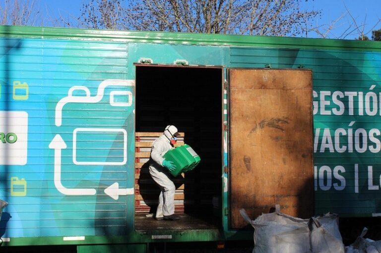 Se realiza con éxito la recolección de envases de agroquímicos
