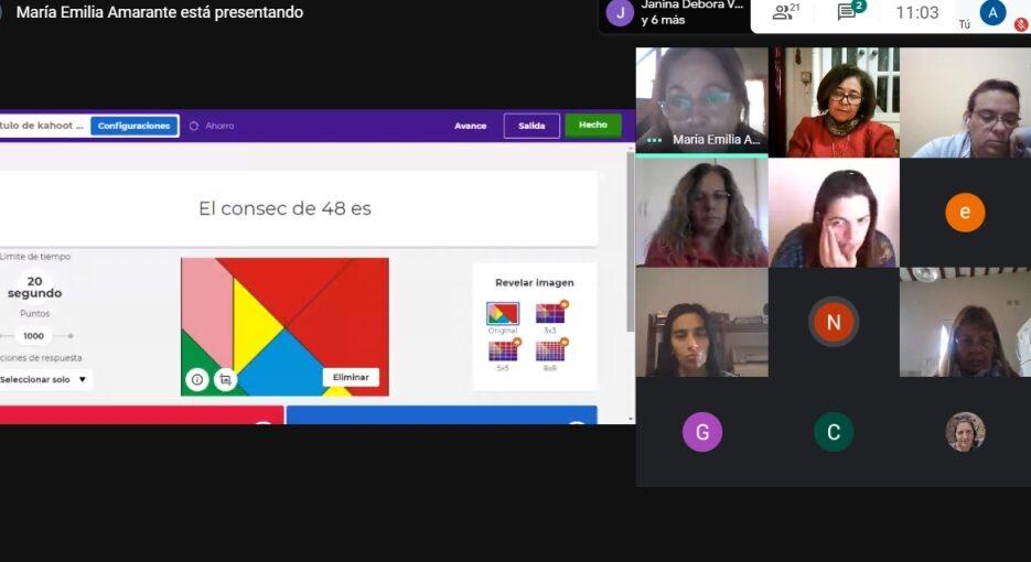 La UNSAdA capacita a docentes y directivos de la región en herramientas didácticas digitales