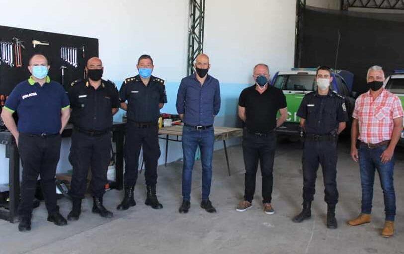 TALLER DE LOGISTICA Y MANTENIMIENTO DE MÓVILES POLICIALES EN ARRECIFES