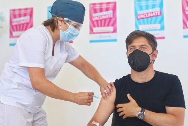 La semana próxima comenzará la vacunación de docentes bonaerenses con factores de riesgo