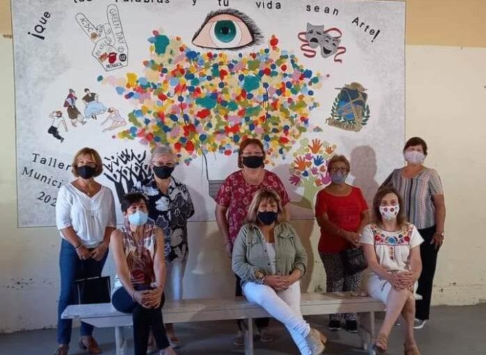 Nuevo mural en la Estación de la Juventud