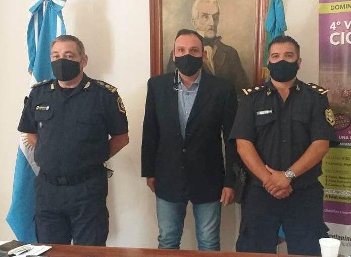 Darío Tenorio asumió la Jefatura Policial de Arrecifes