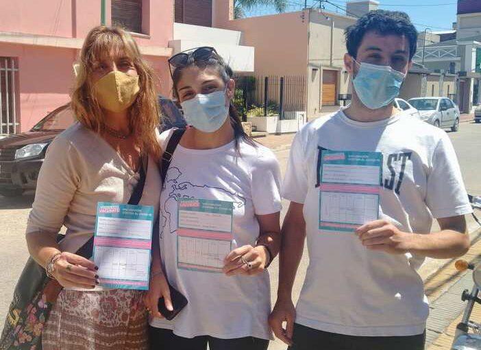 Arrecifes lleva vacunadas 225 personas contra el Covid
