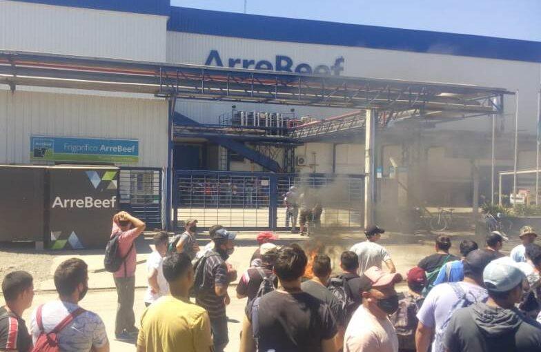 Conflicto gremial para la planta de ArreBeef