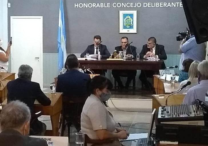 Cruces entre oficialismo y oposición en la apertura de sesiones ordinarias del Concejo
