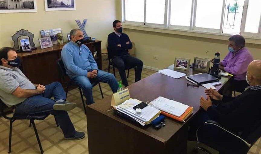 Reunión entre la Municipalidad y la Cámara de Comercio por la pandemia
