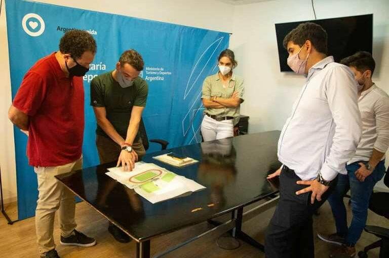 Proyectos arrecifeños en la Secretaría de Deportes de la Nación