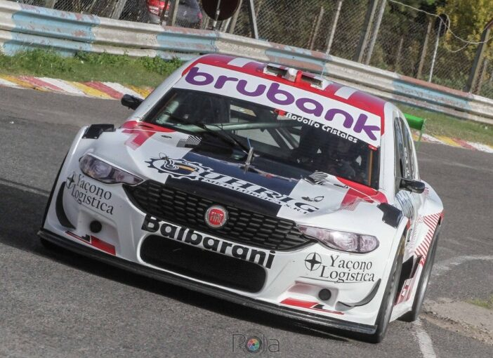 Fefo Di Palma, cuarto en Top Race