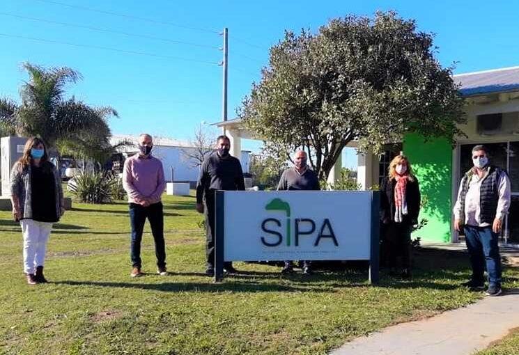 Reunión educativa en las oficinas municipales del SIPA