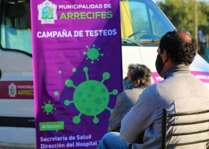 Continúa la campaña de testeos de Covid en los barrios