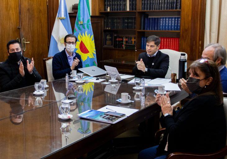 Kicillof y Simone presentaron obras para 107 municipios, entre los que se encuentra Arrecifes
