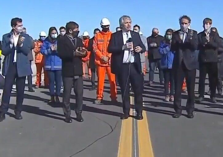 El Presidente llega a Pergamino para inaugurar un tramo de la autopista