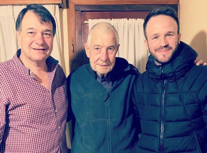 """La despedida de Agustín Canapino a su abuelo Alberto: """"Una pesadilla interminable"""""""