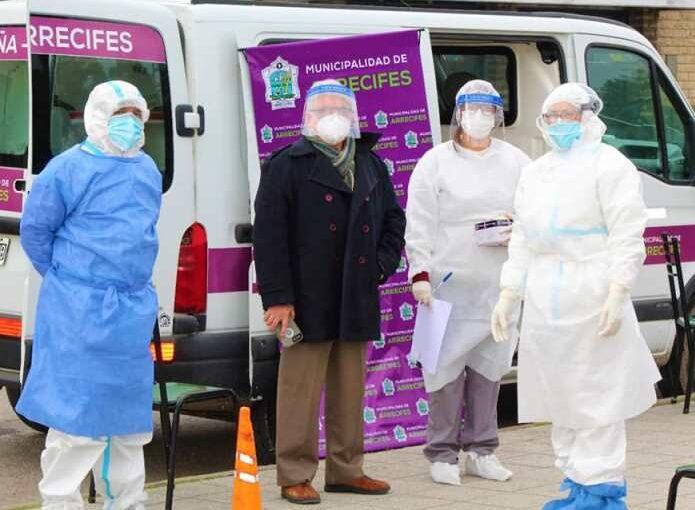Se detectaron 12 nuevos contagios en los testeos en Plaza Brown