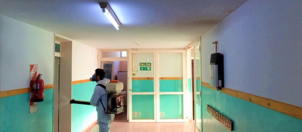 Desinfección y desinsectación en establecimientos educativos